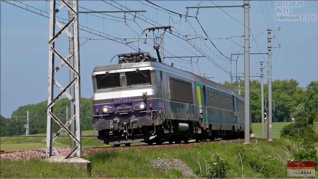 Photos et vidéos de la ligne Bordeaux - Toulouse - Narbonne - Sète (2007-2013) - Page 2 2011_083