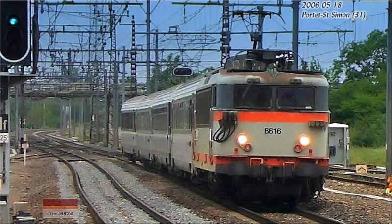 Photos et vidéos de la ligne Bordeaux - Toulouse - Narbonne - Sète (2007-2013) - Page 3 Bb_86110