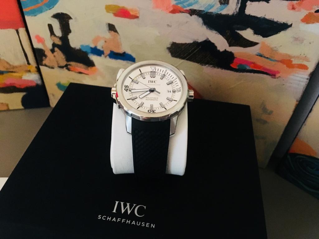 [Vendue][Baisse de prix] IWC aquatimer  Img_3810
