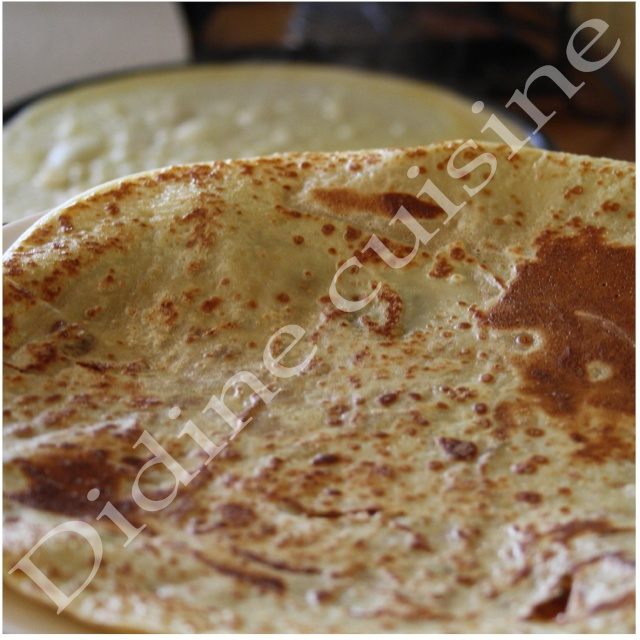 Crepes au lait d'amande Crepes11