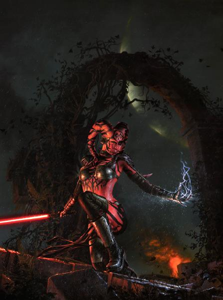 Star Wars - Jerry Vanderstelt -- Darth Talon Dartht10