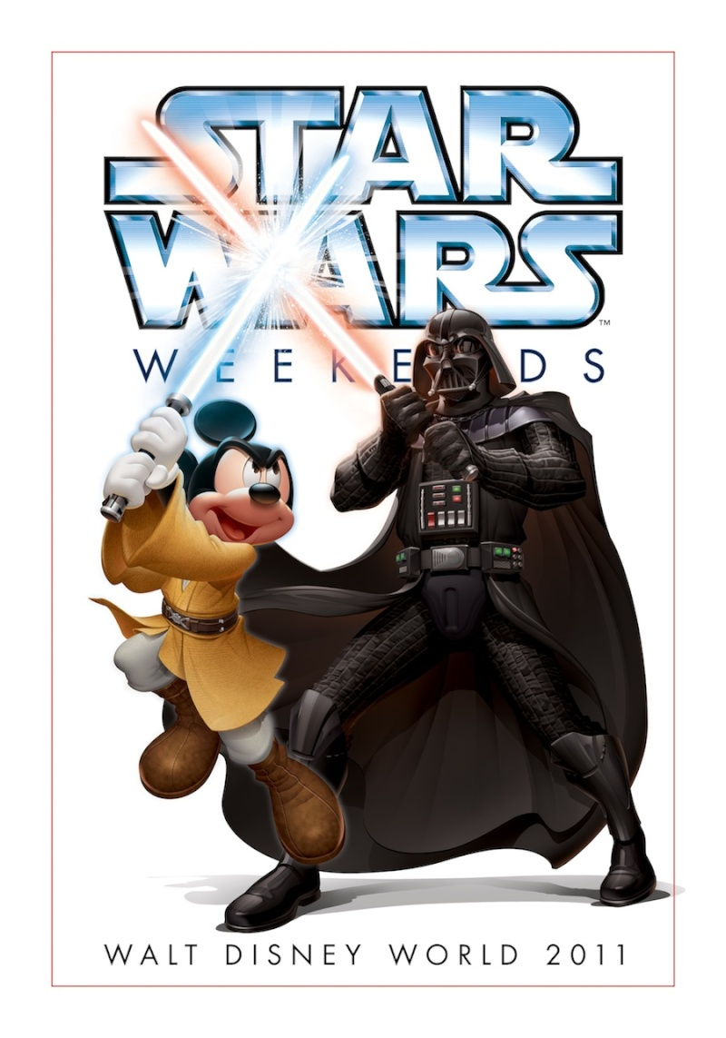 Disney - Star Wars Weekends 2011  Poster10