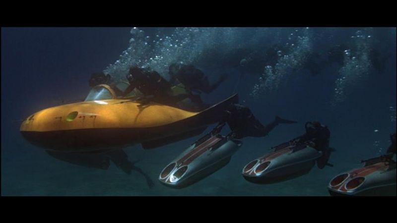 [Custom]  James bond 007 Opération Tonnerre : le propulseur. Traine10