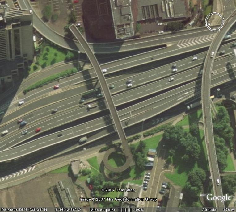 Pont pour rien, Glasgow, Ecosse, Europe Pontri10