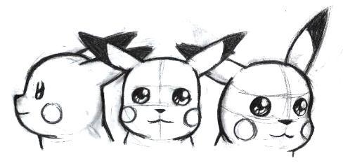 Manga designer:Comment construire de A à Z Pikach10