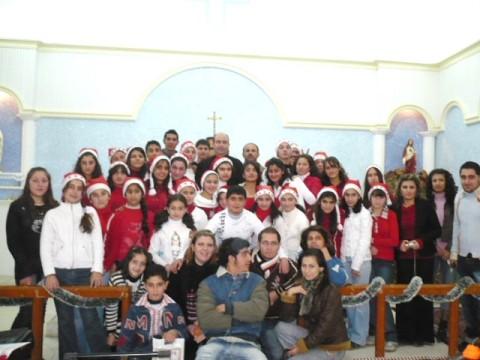 ريسيتال الميلاد في كنيسة الكلدان Kldan110