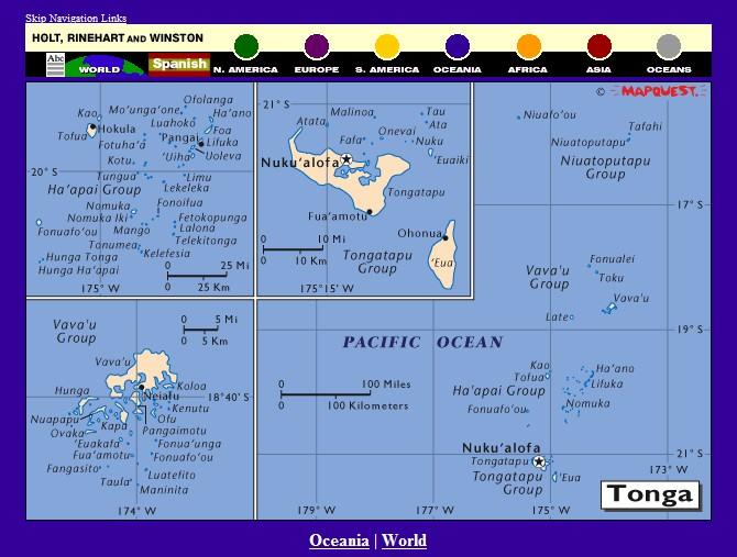 Services de cartographie en ligne : lequel choisir ? - Page 3 Tonga10