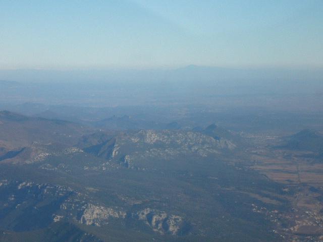 Photo survol viaduc millau mt aigoual,cévennes en C172 P1050111