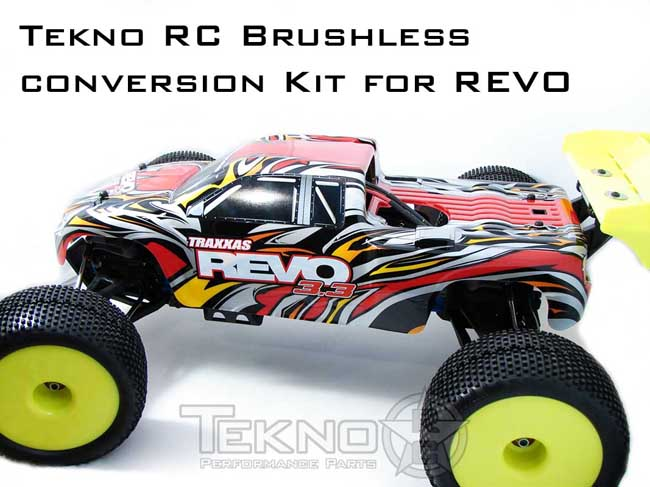Tekno RC Brushless Conversion Kit for REVO (2.5, 3.3) Tkr40011