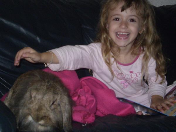 ROSALIE  petite lapine bélier P1010221