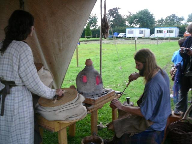 Artisans d'histoire à Velzeke - Septembre 2010 P1170110