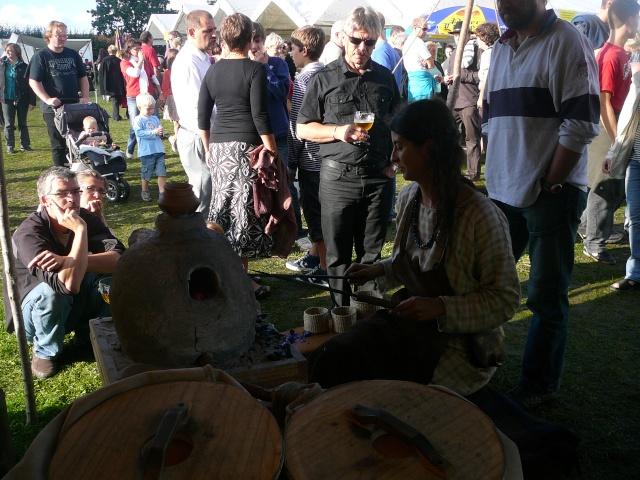 Artisans d'histoire à Velzeke - Septembre 2010 P1170210
