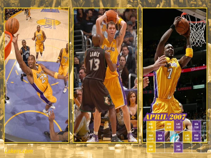 LOS ANGELES LAKERS 0704_w10