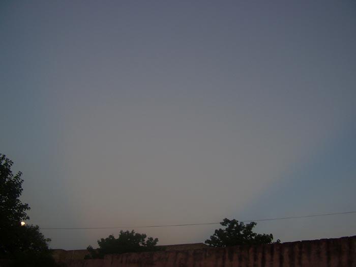 rayos blancos en el cielo Fotolu10