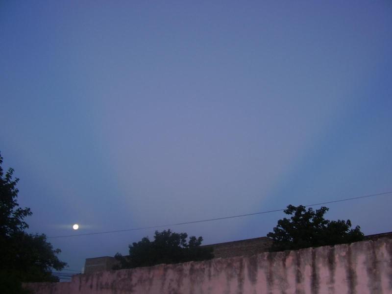 rayos blancos en el cielo Fotolu11