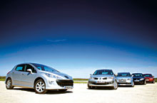 Comparativa C4 - Focus - Peugeot 308 - Vw Golf Compa_10