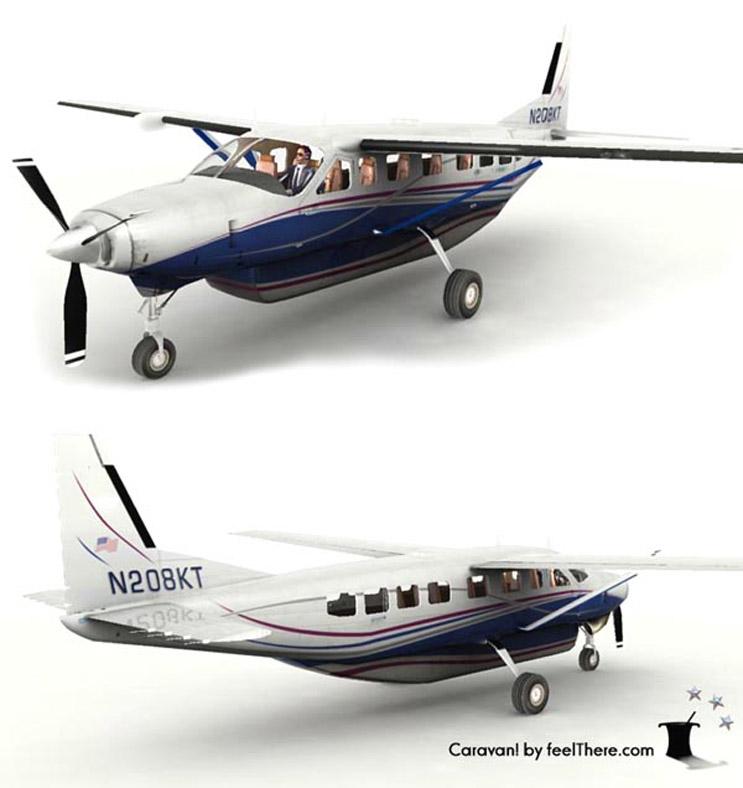Cessna Caravan Deluxe Carava10