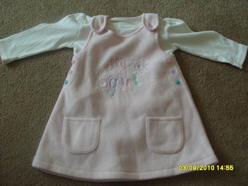 GIRLS 3-6 MONTH CLOTHES S1054712