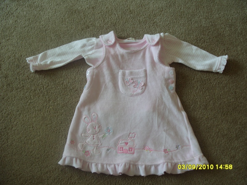 GIRLS 3-6 MONTH CLOTHES S1054715