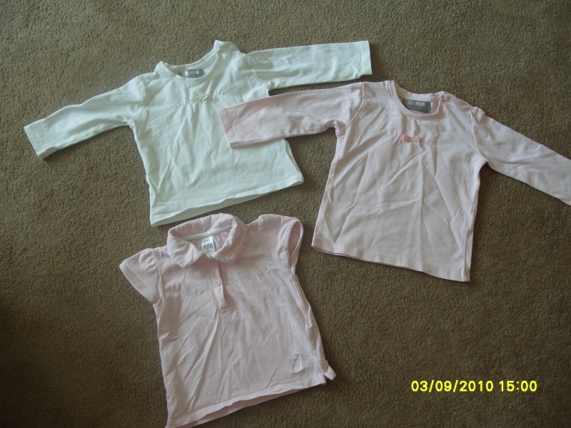 GIRLS 3-6 MONTH CLOTHES S1054717