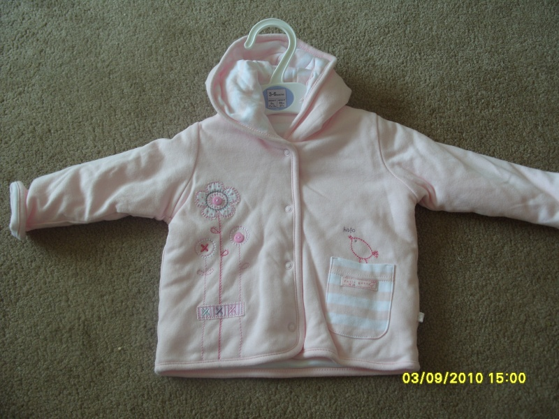 GIRLS 3-6 MONTH CLOTHES S1054718