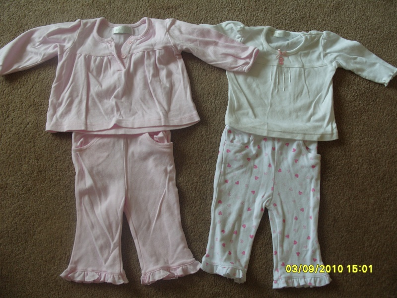 GIRLS 3-6 MONTH CLOTHES S1054720