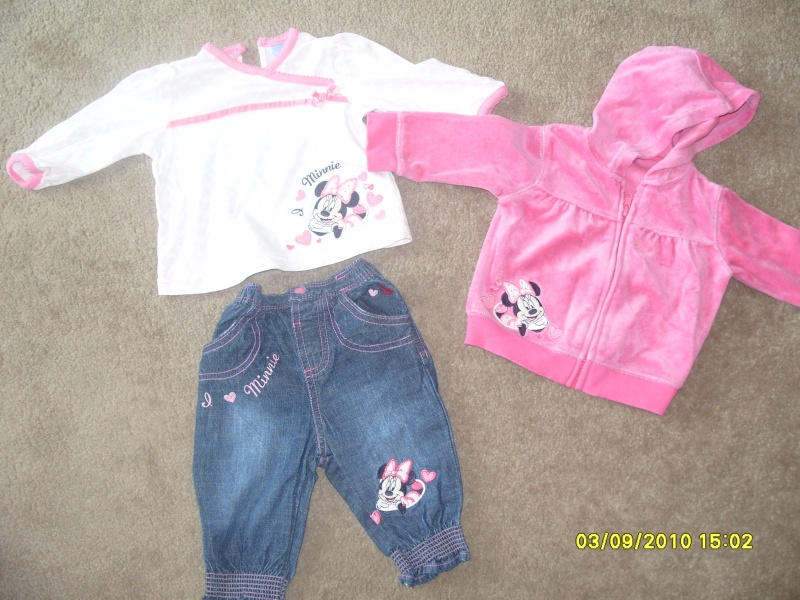 GIRLS 3-6 MONTH CLOTHES S1054721