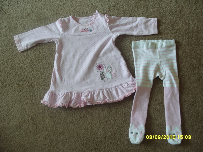 GIRLS 3-6 MONTH CLOTHES S1054722