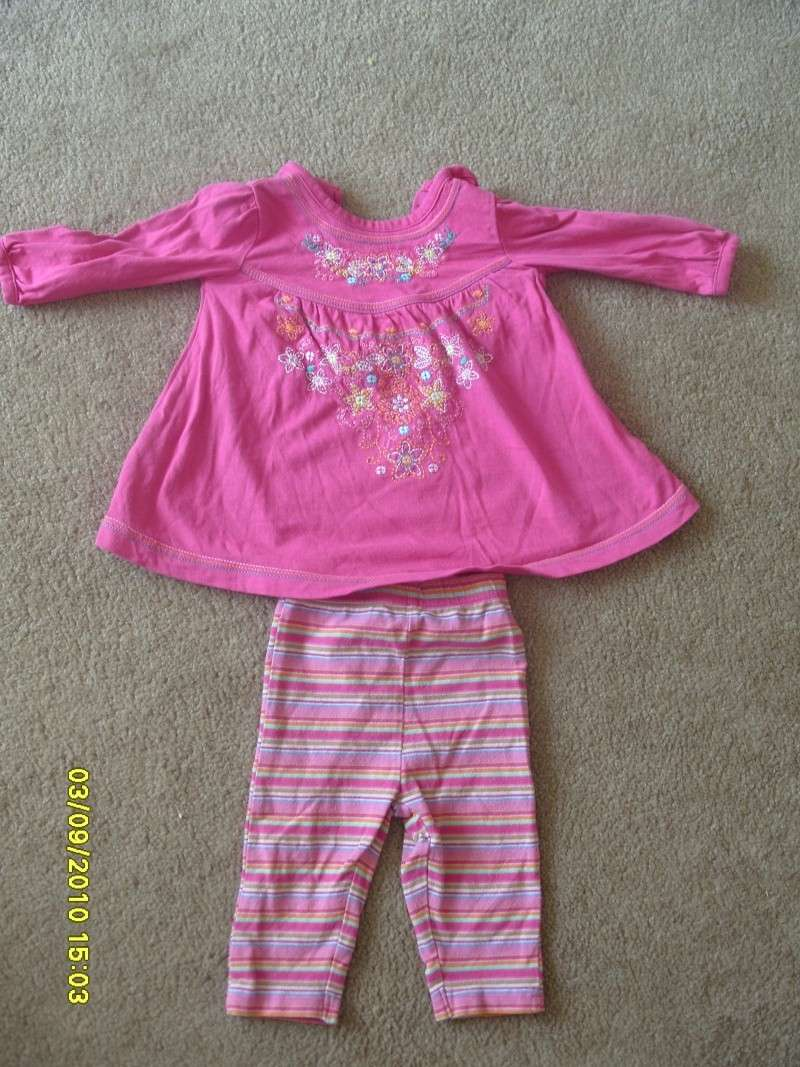 GIRLS 3-6 MONTH CLOTHES S1054723