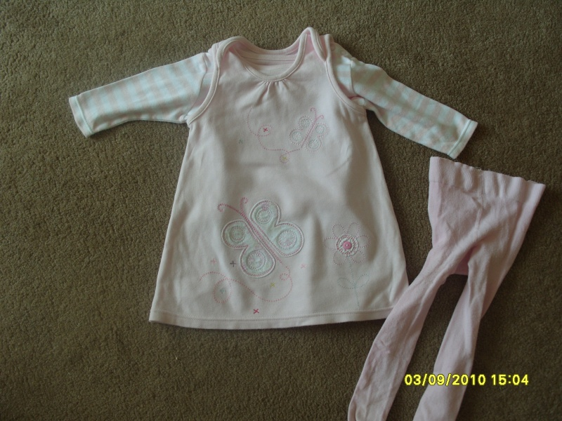 GIRLS 3-6 MONTH CLOTHES S1054724