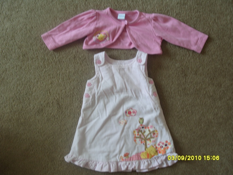 GIRLS 3-6 MONTH CLOTHES S1054726