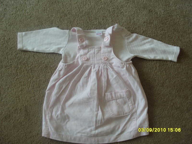 GIRLS 3-6 MONTH CLOTHES S1054727