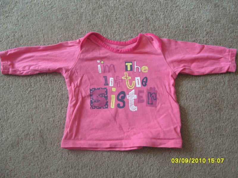 GIRLS 3-6 MONTH CLOTHES S1054728