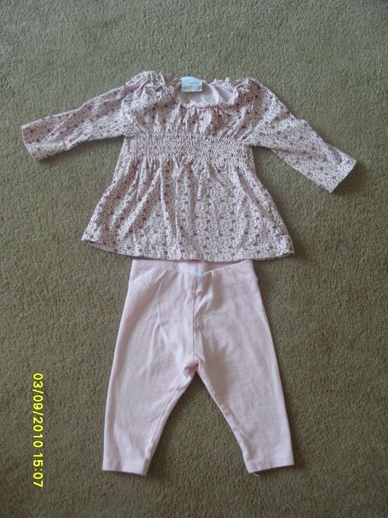 GIRLS 3-6 MONTH CLOTHES S1054729