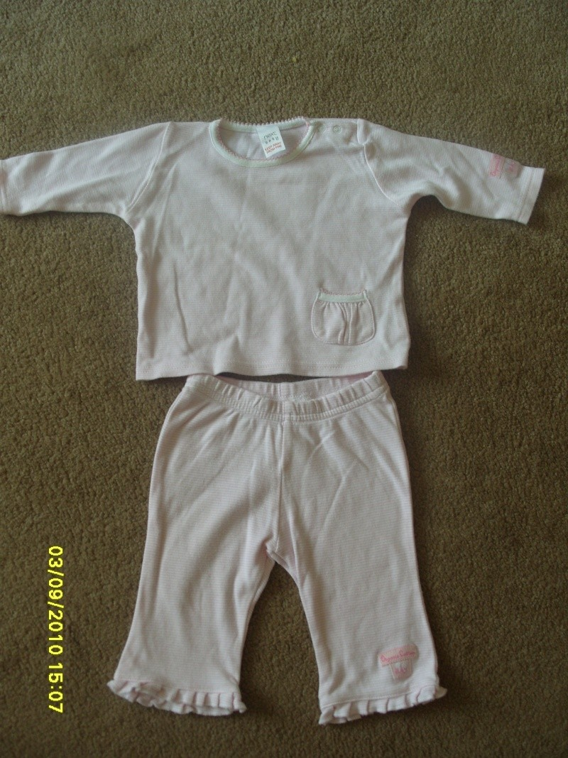 GIRLS 3-6 MONTH CLOTHES S1054730