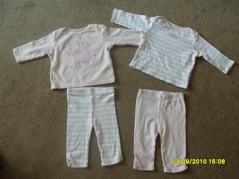 GIRLS 3-6 MONTH CLOTHES S1054731