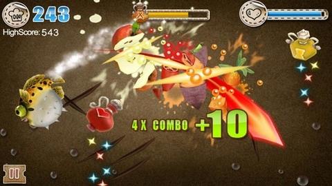 [JEU] CAMEL'S KITCHEN : Découpez les ingredients comme un ninja ! [Payant] Screeh12