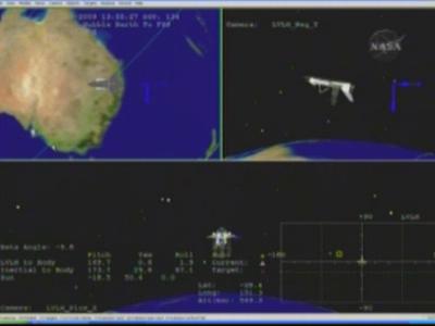 ISS en image de Synthèse - logiciels de la Nasa Vlcsna10