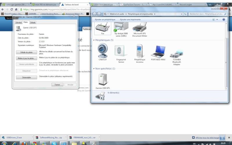 255W Non detecté par mon ordinateur 255w10