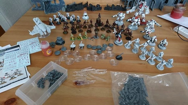 Lot Empire T'au Tau111