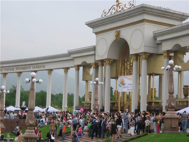 Фестиваль цветов в Алматы - «Алматы – гул кала» 58ff6f12