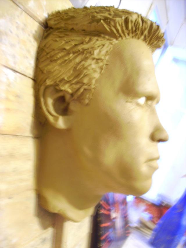 The terminator en tableau 3D Photo_28