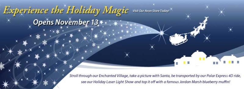 Holiday Magic at Jordans Avon A10