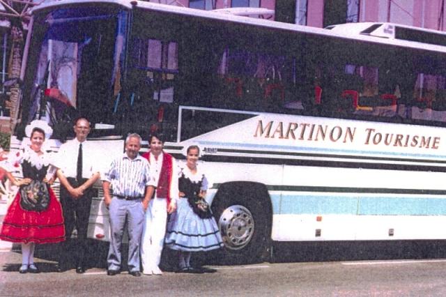 Volvo bus chez Aral 51898110
