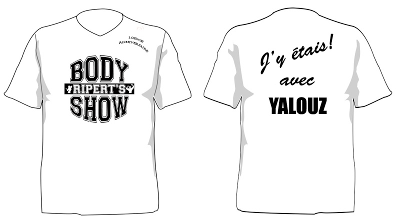 body - RIPERT'BODY SHOW 2011 T-shir11