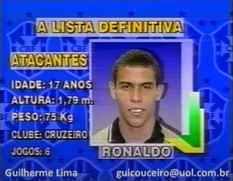 ¿Cuánto mide Ronaldo Nazario? - Estatura y peso - Real height and weight Captur12