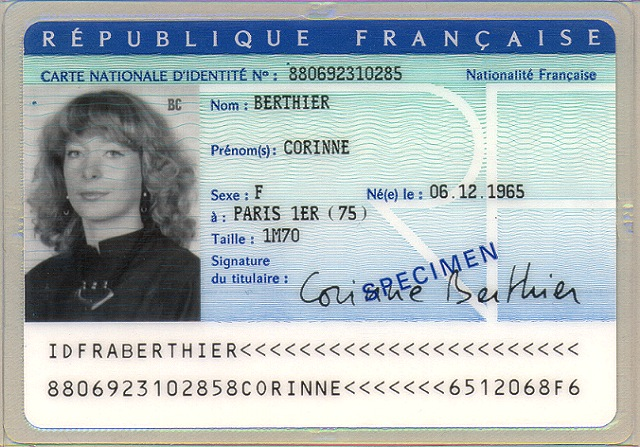 Hay países que en la cédula / documento de identidad y carnet de conducir pone la estatura French10