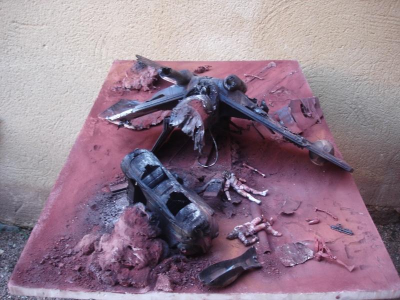 the gunship destroyed after the Battle of Geonosis ah ah :) Dsc08618