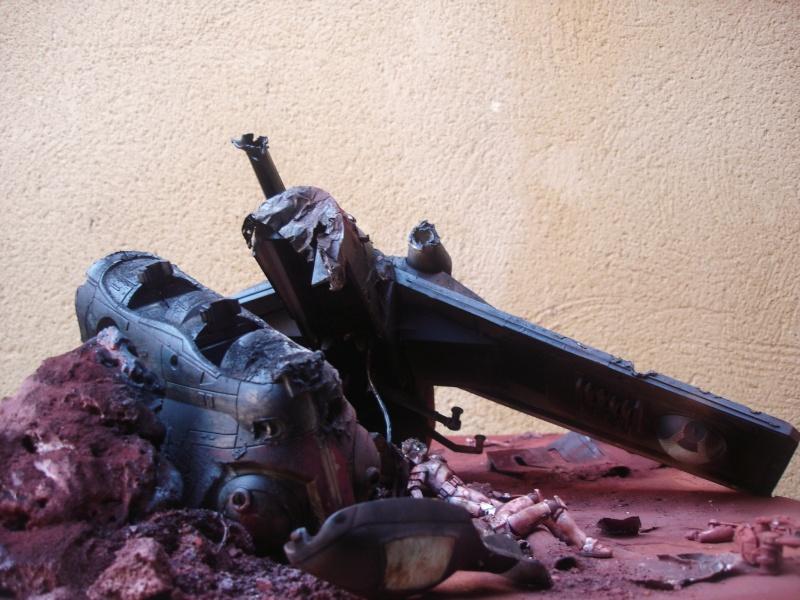 the gunship destroyed after the Battle of Geonosis ah ah :) Dsc08620