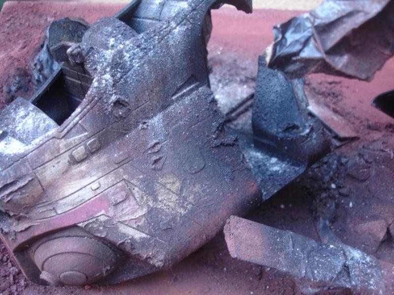 the gunship destroyed after the Battle of Geonosis ah ah :) Dsc08621